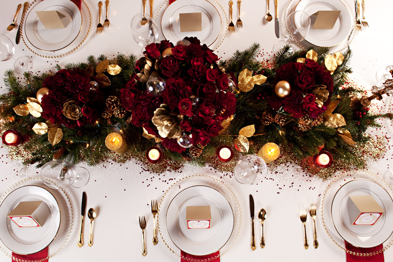 How to set your holiday table & Couture Events Setting your Holiday Table! - Couture Events