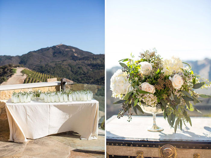 Couture events kristin matt 39 s wedding malibu rocky oaks for Malibu house rentals for weddings