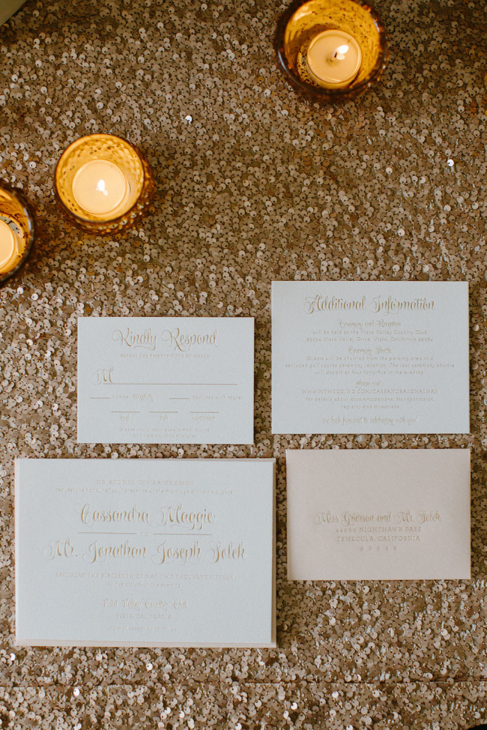 Cassandra Jon Invitation Suite Couture Events