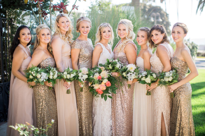 Kelsey Bridesmaids Couture Events The Casino at San Clemente