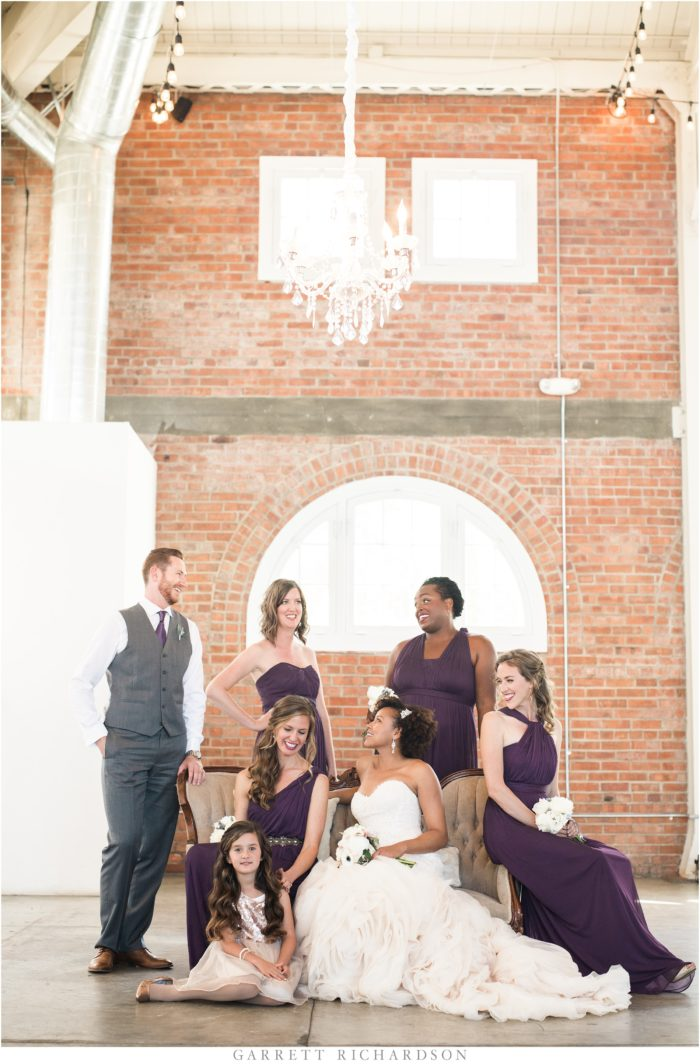 Garrett Richardson Andra Harry Bridal Party Couture Events