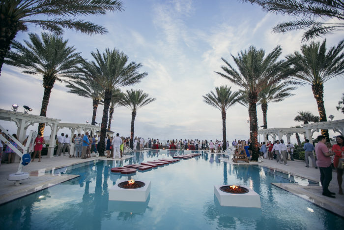 day one make waves pool reception engage summit