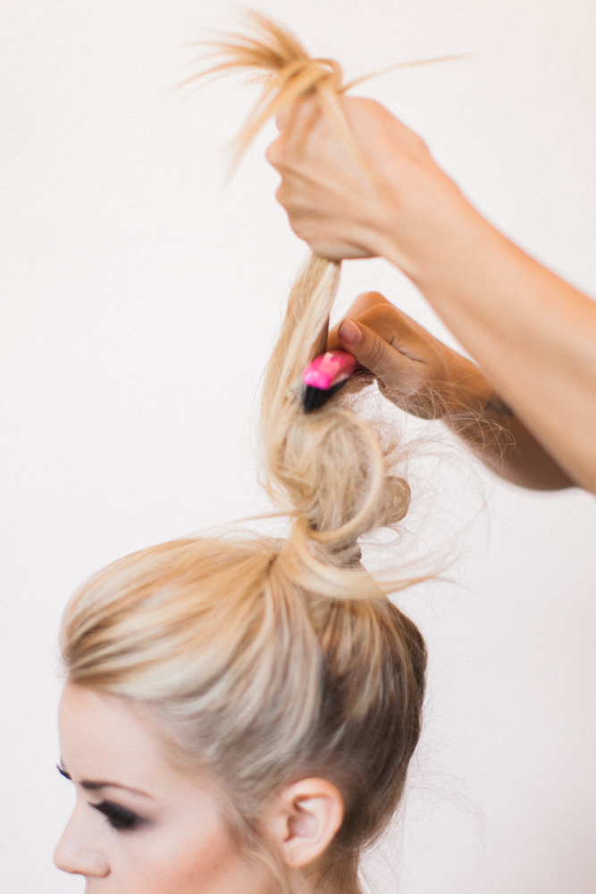 Engagement Party Look Hair Tips Ponytail