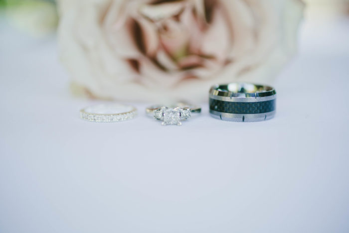 onelove photography wedding rings michelle chris couture events