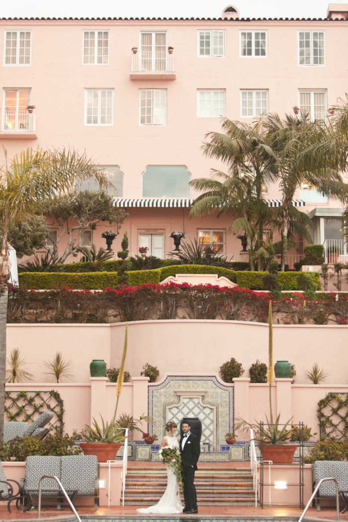 La Valencia top 10 san diego wedding venues